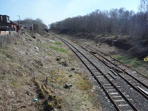 Wigan Springs Branch Sidings
